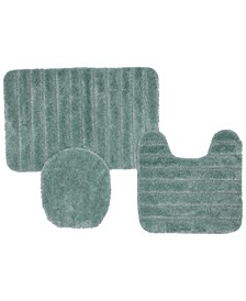 3-Pc. Nylon Bath Rug Set