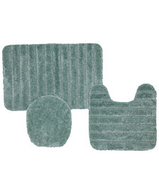 "Mohawk Veranda 1' 8"" L X 2' 6"" W Bath Rug, Set Of 3"