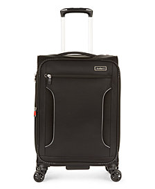 """CLOSEOUT! Antler Cyberlite II DLX 21"""" Softside Expandable Carry-On Spinner Suitcase"""
