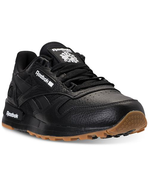 a17decb25dc Reebok Men s Classic Leather 2.0 Casual Sneakers from Finish Line ...