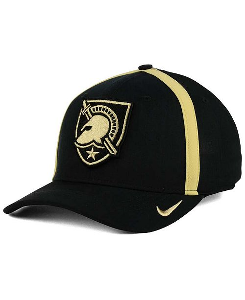 71260c0264f Nike. Army Black Knights Aerobill Sideline Coaches Cap. Be the first to  Write a Review. main image ...