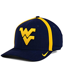 Nike West Virginia Mountaineers Aerobill Sideline Coaches Cap