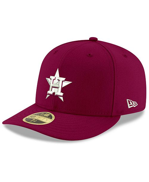 more photos 9eec9 37dde Houston Astros Low Profile C-DUB 59FIFTY Fitted Cap