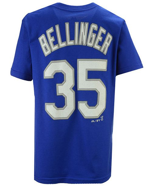 42c0ae749 Majestic. Boys  Cody Bellinger Los Angeles Dodgers Official Player T-Shirt