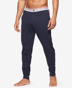 f00cc7b9560d Tommy Hilfiger Men's Modern Essentials Cotton Logo Jogger Pants In Dark Navy