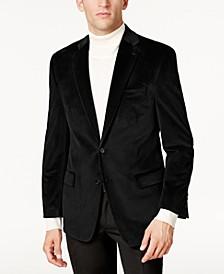 Men's Classic-Fit Velvet Sport Coat