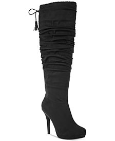Thalia Sodi Brisa Wide-Width Wide-Calf Dress Boots, Created for Macy's
