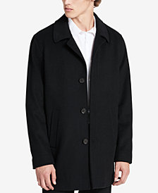Calvin Klein Men's Cashmere & Wool Walker Coat