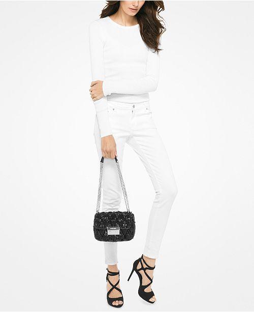 0d3fa47ebcd6 Michael Kors Sloan Small Chain Shoulder Bag   Reviews - Handbags ...