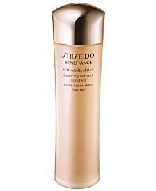 Shiseido Benefiance WrinkleResist24 Balancing Softener Enriched, 10 oz.