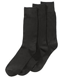 Perry Ellis Men's 3-Pk. Stay Dry Comfort Socks