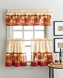 "Curtainworks La Cucina 36"" Tier & Valance Set"
