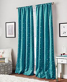 "Curtainworks Starry Night 40"" x 84"" Room-Darkening Energy-Efficient Rod Pocket Window Panel"