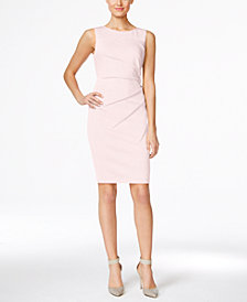 Calvin Klein Petite Starburst Sheath Dress