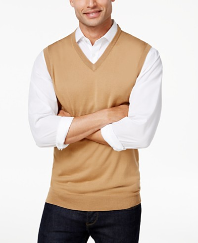 Club Room Men's Vest, Created for Macy's