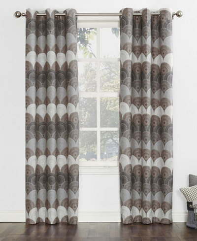 Sun Zero Deco Thermal Lined Curtain Panel Collection