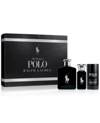 Ralph Lauren Men's 3-Pc. Polo Black Gift Set - Shop All Brands ...
