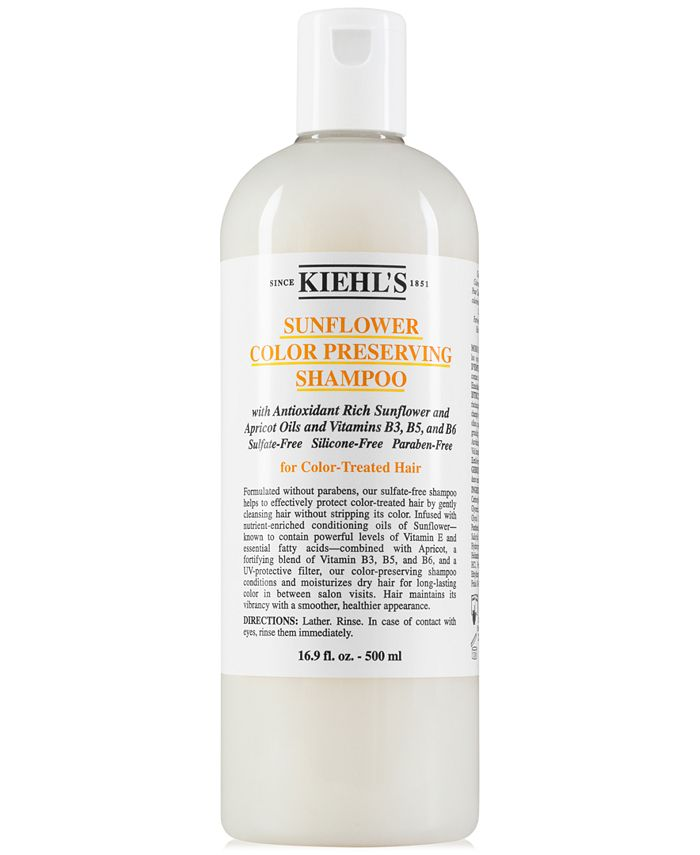 Kiehl's Since 1851 - Sunflower Color Preserving Shampoo, 16.9-oz.