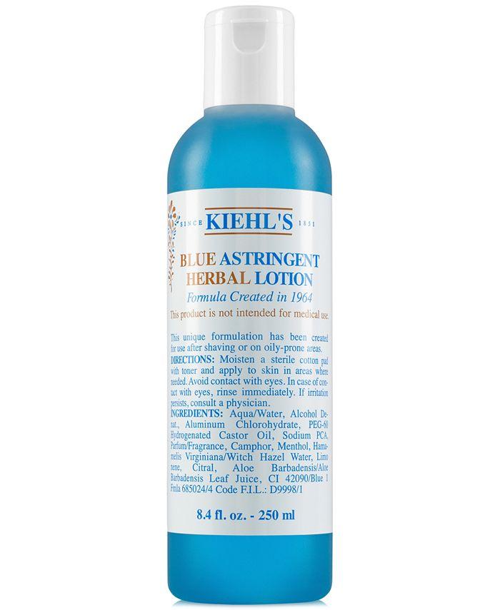 Kiehl's Since 1851 - Blue Astringent Herbal Lotion, 8.4-oz.