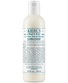 Kiehl's Since 1851 Deluxe Hand & Body Lotion With Aloe Vera & Oatmeal - Coriander, 8.4-oz.