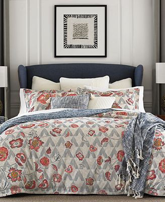 CLOSEOUT! Tommy Hilfiger Margo Reversible 3-Pc. Floral King Comforter Set