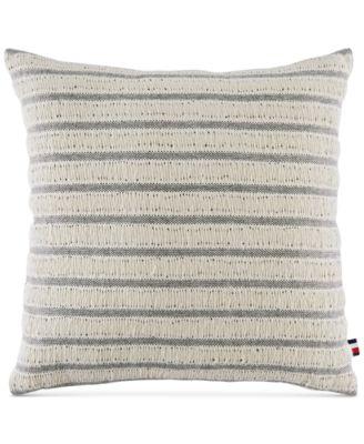 "Fisherman's Stripe 18"" Square Decorative Pillow"