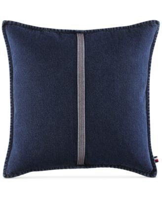 "Selvage Stripe 22"" Square Decorative Pillow"