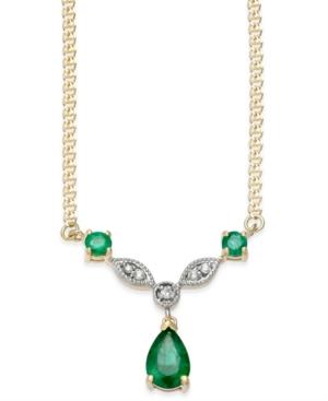 Emerald (9/10 ct. t.w.)...