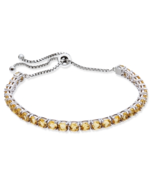 Citrine Slider Bracelet...