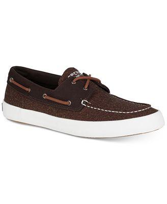 Sperry Men's Wahoo 2-Eye Multi-Knit Boat Shoes