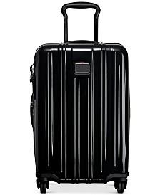 """Tumi V3 22"""" International Carry-On Expandable Hardside Spinner Suitcase"""