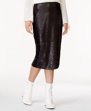 Minkpink Sequin Pencil Skirt thumbnail