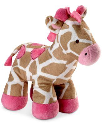 Jungle Giraffe Plush Decorative Pillow