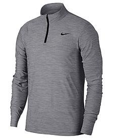 Nike Men's Breathe Quarter-Zip Training Top