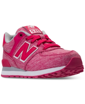 New Balance Little Girls 574 Tux Casual Sneakers from Finish Line