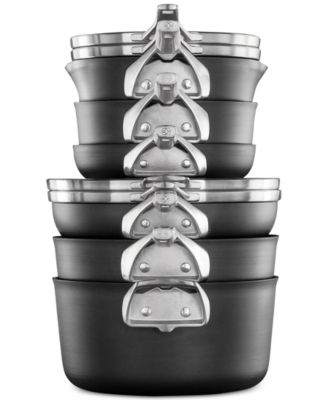 calphalon premier 10pc spacesaving hard anodized nonstick cookware set - Calphalon Cookware Set