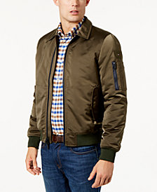 Tommy Hilfiger Men's Logo Bomber Jacket