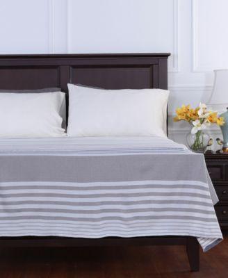 Striped Lightweight Twin Blanket