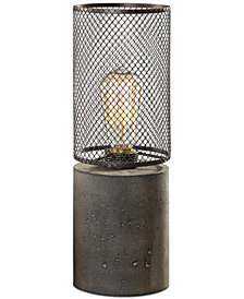 Uttermost Ledro Concrete Table Lamp