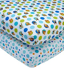 Disney Finding Nemo Crib Sheet 2-Pack