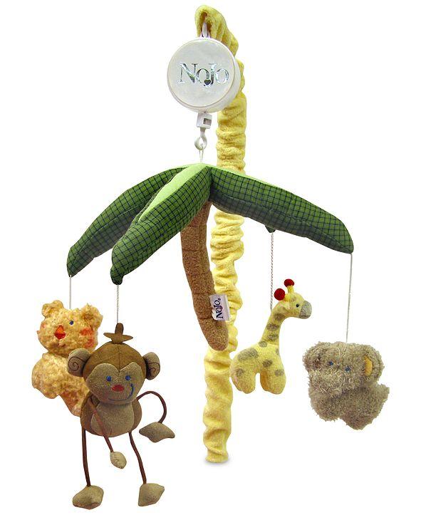 NoJo Jungle Babies Musical Mobile