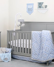 NoJo Geo Diamond 8-Piece Crib Bedding Set