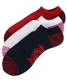 '47 Brand St. Louis Cardinals 3pack Blade Motion No Show Socks