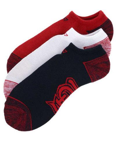 '47 Brand St. Louis Cardinals 3pack Blade Motion No Show Socks