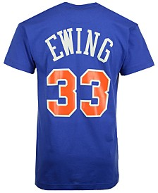 Mitchell & Ness Men's Patrick Ewing New York Knicks Hardwood Classic Player T-Shirt