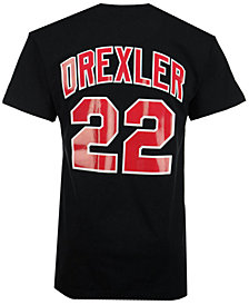 Mitchell & Ness Men's Clyde Drexler Portland Trail Blazers Hardwood Classic Player T-Shirt