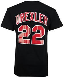Mitchell & Ness Men's Clyde Drexler Portland Trail Blazers Hardwood Classic Player T-Shirt