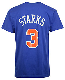 Mitchell & Ness Men's John Starks New York Knicks Hardwood Classic Player T-Shirt