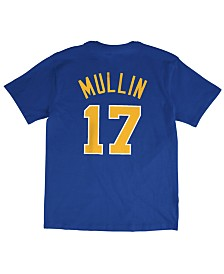 Mitchell & Ness Men's Chris Mullin Golden State Warriors Hardwood Classic Player T-Shirt