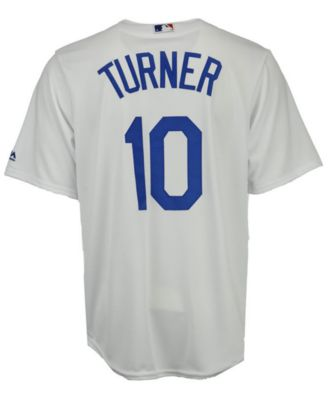 new arrival 17891 ca427 Men's Justin Turner Los Angeles Dodgers Player Replica CB Jersey